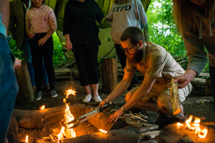 Experience 3 – Bushcraft Fire