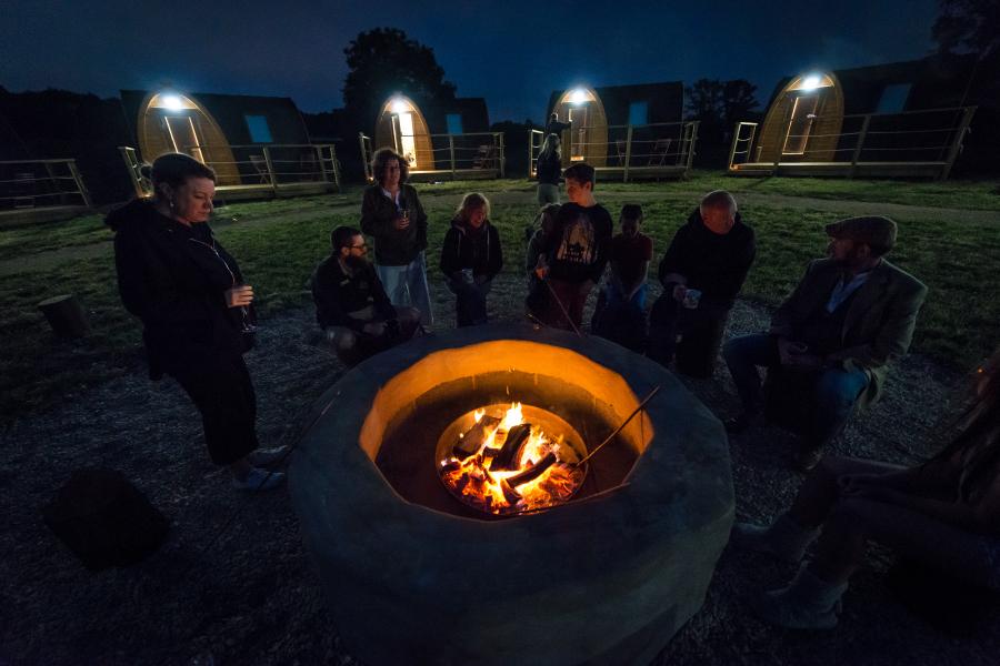 Home 8 – Camp Fire